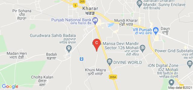 I.K.G PTU Campus, Khunimajra Mohali, Sector 115, Kharar, Punjab, India