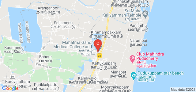 Mahatma Gandhi Medical College and Research Institute, Pillayarkuppam, Pondicherry, India