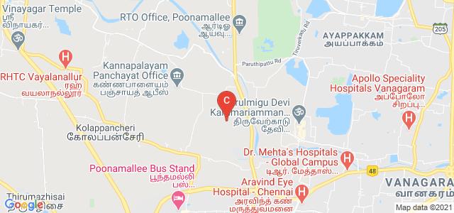 S.A. Engineering college, Thiruverkadu, Tamil Nadu, India