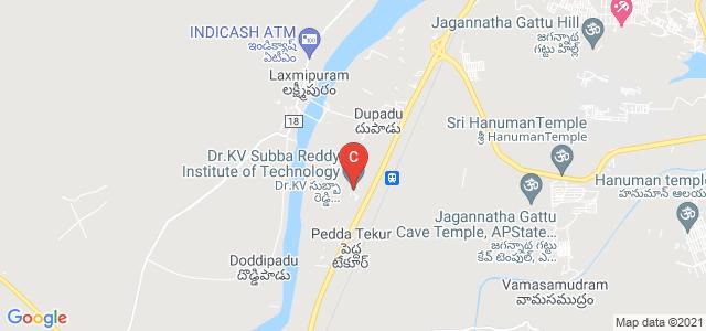 Dr.K.V. Subba Reddy Institute of Technology, Kurnool, Andhra Pradesh, India