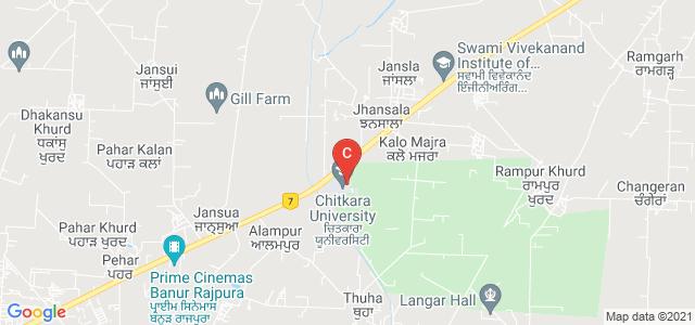 Chitkara Institute of Engineering & Technology, Patiala, Punjab, India
