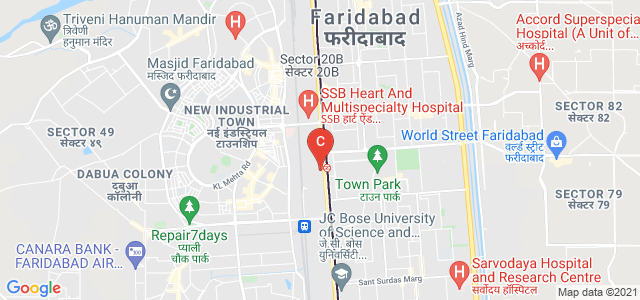 Vision Institute of Applied Studies Faridabad, National Highway 2, Krishna Nagar, New Industrial Town, Faridabad, Haryana, India