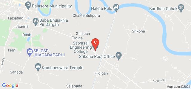 Satyasai Engineering College, Chandipur, Balasore, Odisha, India