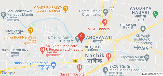 K.T.H.M. College, Gangapur Road, Shivaji Nagar, Nashik, Maharashtra, India