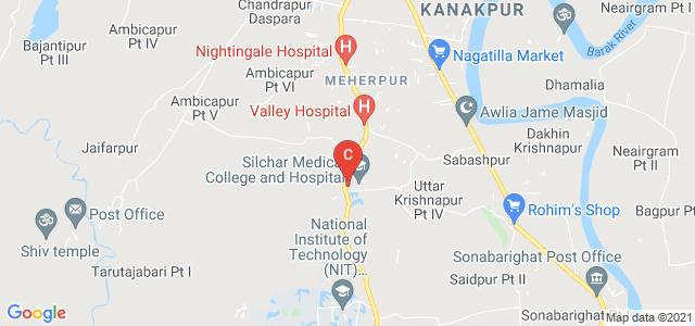 Silchar Medical College and Hospital, Masimpur, Uttar Krishnapur Pt III, Assam, India