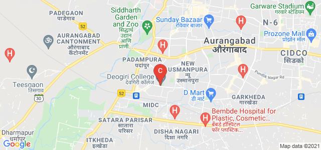Deogiri Institute for engineering and management studies, Rachanakar Colony, New Usmanpura, Aurangabad, Maharashtra, India