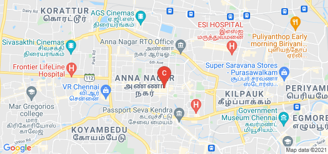ISHWAR Institute of Prosthetics and Orthotics, AA Block 3rd Main Road, Lapis lagoon, AA Block, Shanthi Colony, Anna Nagar, Chennai, Tamil Nadu, India