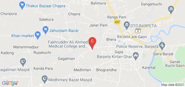 Fakhruddin Ali Ahmed Medical College and Hospital, Barpeta, Barpeta-Hospital-Jania Road, Joti Gaon, Assam, India