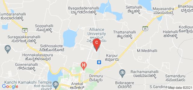 Alliance University, University Campus, Bangalore, Bangalore Urban, Karnataka, India