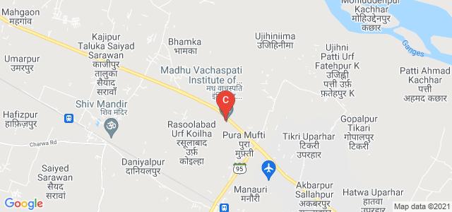 Madhu Vachaspati Institute of Engineering and Technology, NH 2, Rasoolabad Urf Koilha, Uttar Pradesh, India