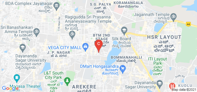 Alliance University - City Campus 1, 7th Main Road, NS Palya, Stage 2, BTM 2nd Stage, Bengaluru, Karnataka, India