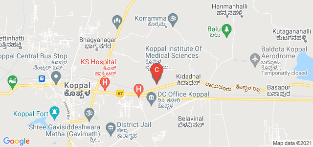 Koppal Institute Of Medical Sciences, Bhagyanagar, Koppal, Karnataka, India