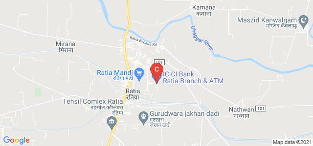 Shaheed Baba Deep Singh College of Nursing, Ratia, Fatehabad, Tibba Colony, Model Town, Fatehabad, Haryana, India