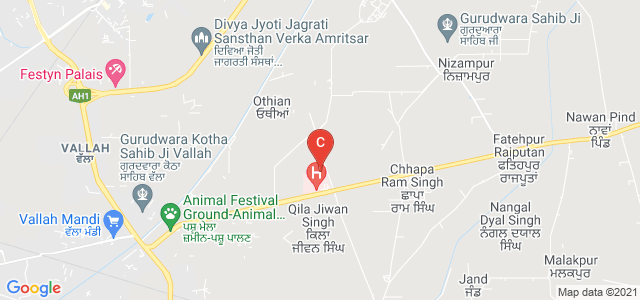 Sri Guru Ram Das College of Nursing, Qila Jiwan Singh, Punjab, India
