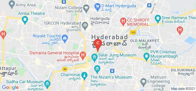 Osmania Medical College, Troop Bazaar, Koti, Hyderabad, Telangana