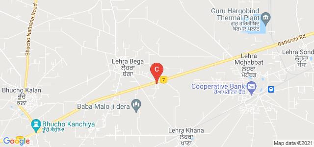Guru Ram Dass Institute of Engineering & Technology, National Highway 7, Lehra Bega, Bathinda, Punjab, India