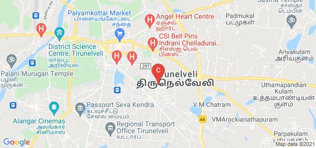 Tirunelveli Medical College, High Ground Road, Palayamkottai, Tirunelveli, Tamil Nadu, India