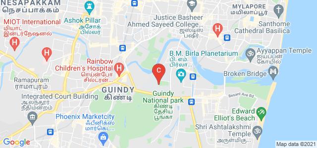 Anna University, Kotturpuram, Chennai, Tamil Nadu, India