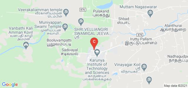 Karunya School OF Management, Karunya Institute of Science and Technoogy, Karunya Nagar, Tamil Nadu, India
