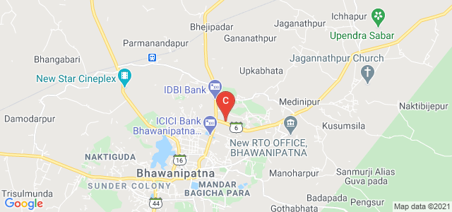 Government Autonomous College, Bhawanipatna, College Street, Kanakpur, Bhawanipatna, Odisha, India