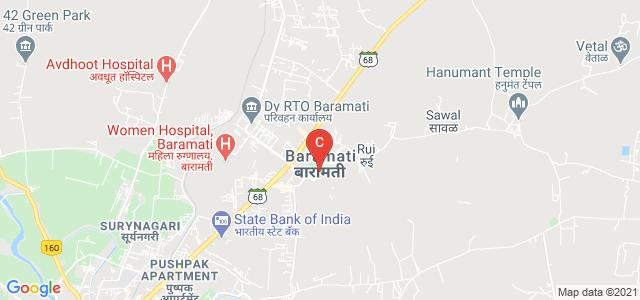 Vidyanagari, VP College, Vidya Nagari, Baramati, Pune, Maharashtra 413133, India