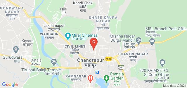 shantaram potdukhe college of law, Police Quarters, D.G.Tukum, Police Colony, Tukum, Chandrapur, Maharashtra, India