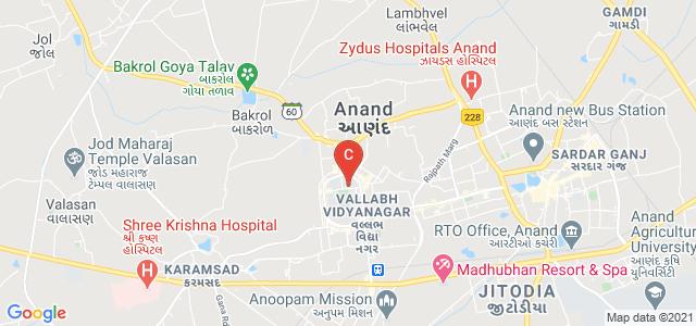 Bhikhabhai Jivabhai Vanijya Mahavidyalaya, Mota Bazaar, Vallabh Vidyanagar, Anand, Gujarat, India