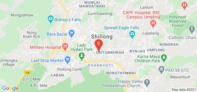 St. Mary's College, Laitumkhrah, Shillong, Meghalaya, India