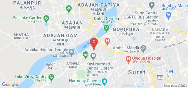 Shree Ramkrishna Institute of Computer Education and Applied Sciences, Chopati, Athwalines, Athwa, Surat, Gujarat, India
