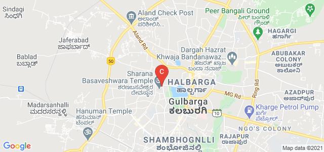 Godutai Doddappa Appa Women's Arts,Commerce Degree College, SB Temple Road, Lalgiri Cross, Raghavendra Colony, Brhampur, Kalaburagi, Karnataka, India