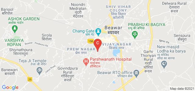 Shree Vardhman Girls College, Beawar, Nehru Gate Main Road, near Krishna Colony, Krishna Colony, Beawar, Rajasthan, India