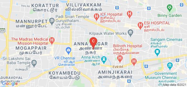 Shri Krishnaswamy College For Women, 6th Main Road, Block AC, Anna Nagar West, Anna Nagar, Chennai, Tamil Nadu, India