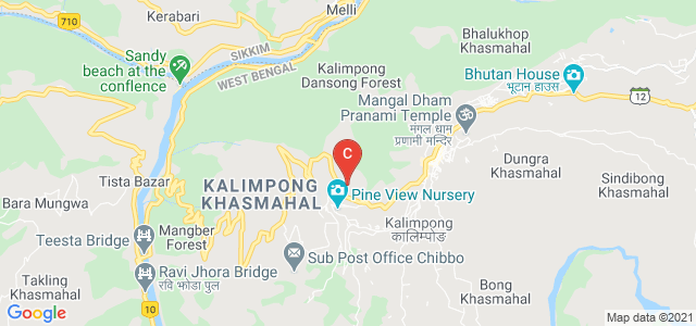 Cluny Women's College, Mongbol Busty, Kalimpong, Darjeeling, West Bengal, India