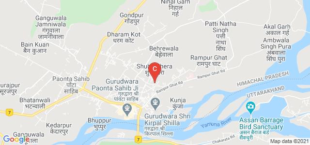 Shri Guru Gobind Singh Ji Government College, Paonta Sahib, Himachal Pradesh, India