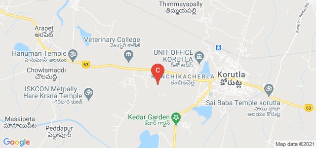 Govt.Degree & PG College - Korutla, SFS school lane, National Highway 63, Kanchikacherla, Korutla, Telangana, India