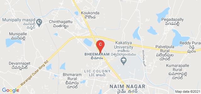 Sri Arunodaya Degree And P.G. College, KUC Road, Near, Bheemaram, Hanamkonda, Warangal, Telangana, India
