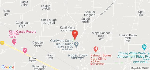 A S College Khanna, Machhiwara - Rahon Highway, Punjab, India