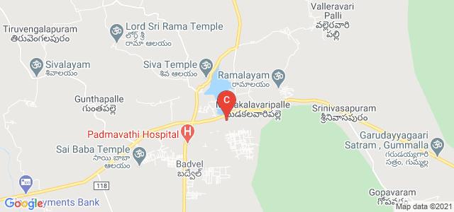 Sri Rachapudy Nagabhushanam Degree College, Chinthaputhayapalli, Madakalavaripalle, Andhra Pradesh, India
