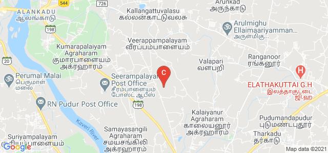 Tiruchengode - Namakkal - Trichy Rd, Ulagappampalayam, Elaiyampalayam, Tamil Nadu, India