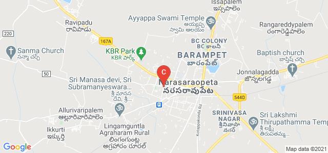 Krishnaveni Degree College, Arundelpet, Narasaraopet, Andhra Pradesh, India