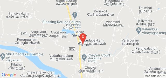 Arignar Anna Government Arts College, Arkadu Road, Anna Nagar, Cheyyar, Tamil Nadu, India