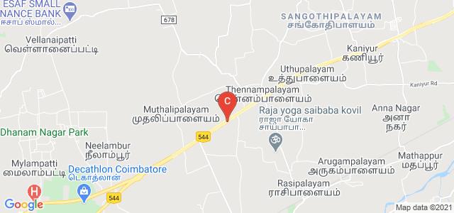 Coimbatore Institute of Technology, Avinashi Road, Civil Aerodrome Post, Peelamedu, Coimbatore, Tamil Nadu, India