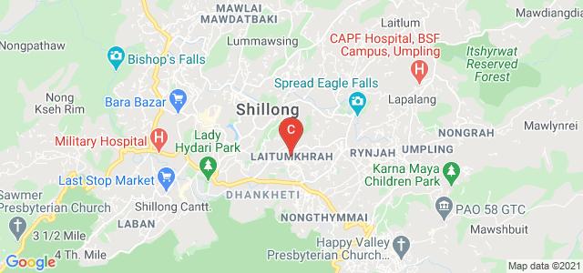 National Institute of Technology Meghalaya, Laitumkhrah, Shillong, Meghalaya, India