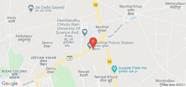 Deenbandhu Chhotu Ram University Of Science And Technology, Murthal, Haryana, India