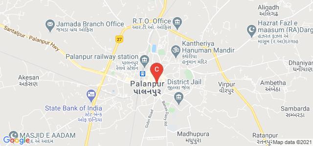 Amir Road, Parshvanath Nagar, Palanpur, Banaskantha, Gujarat 385001, India