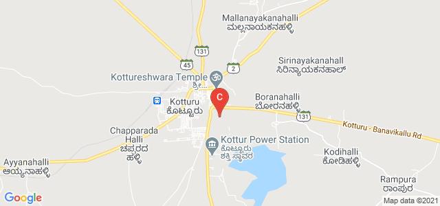 Kottureshwara College, State Highway 45, Kotturu, Karnataka, India