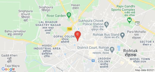 Gaur Brahman Degree College, Gopal Colony, Rohtak, Haryana, India