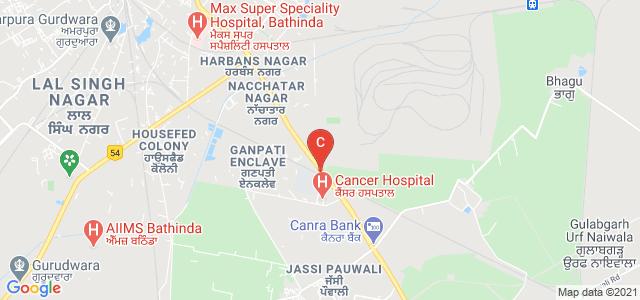 Central University of Punjab, Ghudda, Mansa Rd, Bathinda, Punjab, India