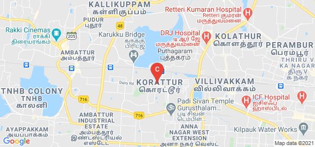 Bhaktavatsalam Memorial College for Women, Street Number 31, Periyar Nagar, Korattur, Chennai, Tamil Nadu, India