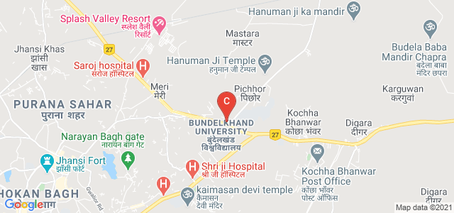 Bundelkhand University, Jhansi, Uttar Pradesh, India